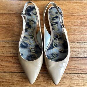 Sam Edelman sling-back shoes